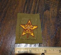 15987 Vintage BSA Boy Scouts of America ~ STAR Rank  Badge / UNIFORM PATCH