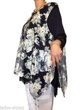 Ärmellose Damenblusen, - tops & -shirts im Tunika-Stil mit L