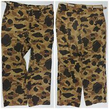 Vtg Gore-tex Columbia Duck Camouflage Pants Camo waterproof hunting USA 38 x 30