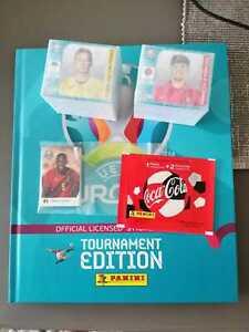 Panini 2020 TE sticker set + HC album + Coca Cola C1-C14 Croatian Edition set