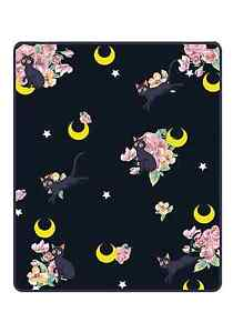 Sailor Moon- Luna Throw Blanket