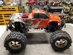 HPI Racing Savage 25 Monster Truck FAST...Axial Traxxas RC4WD