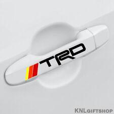 2x Toyota TRD Vinyl Decal Emblem Tacoma Camry Sticker Door Handle, Mirror, Wheel
