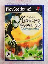 Tim Burton L'Étrange Noël de Monsieur jack FR PAL - Playstation 2 / PS2