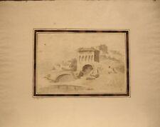 Giuseppe Zais Watercolor: Romantic Landscapes (Tivoli)