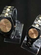 Charles Reymond Men's And Women's Watches Beautiful Gold Face, Gold/green Dail