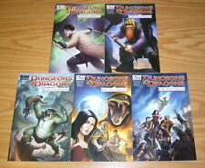 Dungeons & Dragons: Forgotten Realms #1-5 VF/NM complete series - A variants set