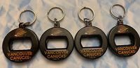VINTAGE VANCOUVER CANUCKS 1994 BEV KEY 3 in 1 CAN BOTTLE TWIST OPENER KEYCHAIN