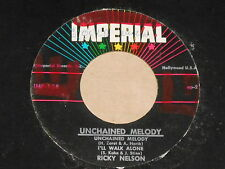 """Ricky Nelson-Unchained Melody - 7"""" PE 45"""