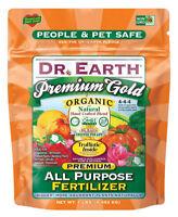 Dr. Earth 70857 Premium Gold All Purpose Fertilizer, 1 Lb