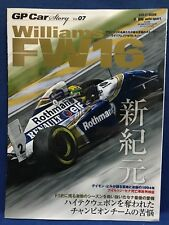 GP Car Story Vol.07 Williams FW16 Renault F1 Formula 1 Motor Japanese Magazine
