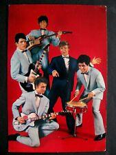 Ancienne Carte Postale Les Pirates Chanteur Dany Logan Groupe Rock Année 60