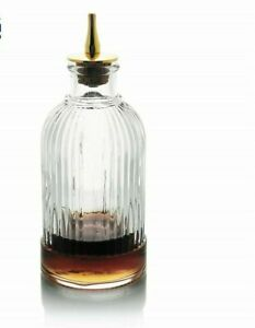 Birdcage Dash Bottle Bitter Glass Liquor Pour Bartender Kit Cocktail Drinks Tool