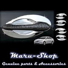 Chrome Door Handle Catch Cup Bowl Cover Trim for 11~14 Hyundai Sonata/i45