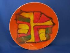 POOLE POTTERY DELPHIS PLATE by GILLIAN TAYLOR