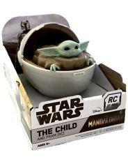 New Disney Star Wars - The Child and Pram RC - Mandalorian Baby Yoda Grogu
