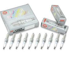 10 pcs NGK 4471 Laser Platinum Spark Plug for LKR8AP 4471 12 12 0 032 273 - tw