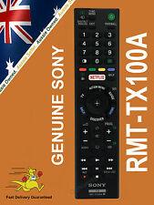 GENUINE SONY BRAVIA REMOTE CONTROL RMT-TX100A RMTTX100A X85