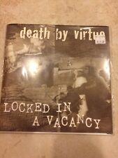 "Death by Virtue Locked in a Vacancy Split 7"" Vinyl Record Hardcore Punk"