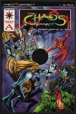 Dan Jurgens & Bob Layton SIGNED Valiant Comics The Chaos Effect Promo A Comic