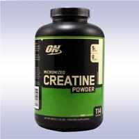 OPTIMUM NUTRITION CREATINE POWDER (600 GRAMS) unflavored monohydrate creapure on