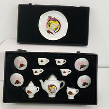Barbie Solo in the Spotlight Miniature China Tea Set Vintage 1995 Collectors