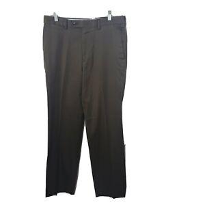 Louis Raphael Rosso Dress Pants 32x32 Brown