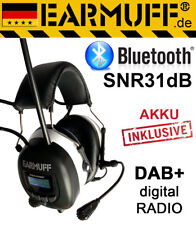 DAB+ digital Radio / Bluetooth -31dB EARMUFF Gehörschutz Kopfhörer