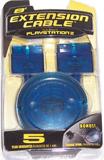 PS2 8' EXTENSION CABLE w/ FREE Spool - 8 feet PSone NEW
