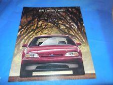 1996 CHEVROLET LUMINA ORIGINAL SALES BROCHURE! SUPER PHOTOS & INFO!!!