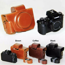 Leather Hard camera case bag Grip Strap For Canon POWERSHOT G5X G5 X