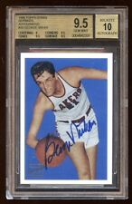 BGS 9.5 *10* AUTOGRAPH GEORGE MIKAN 1996 TOPPS RC AUTOGRAPH AUTO ON CARD LAKERS