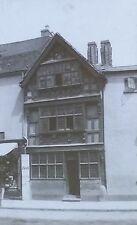 Harvard House, Stratford-on-Avon, England, Magic Lantern Glass Photo Slide