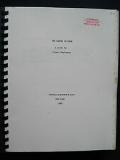 THE GARDEN OF EDEN by ERNEST HEMINGWAY Book of the Month Club Manuscript 1st Ed.
