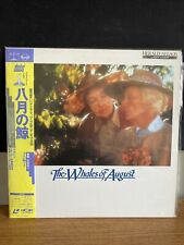 The Whales Of August Japanese Import With OBI