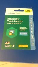 Kaspersky Total Security 5 Devices 1YR Multi-Device 2018 Global Region Free
