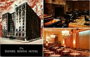 The Daniel Boone Hotel Downtown Charleston West Virginia Postcard