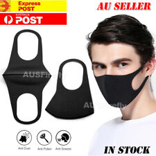 Face Mask Washable Unisex  Mouth Masks Protective Reusable SYD NOW IN STOCK