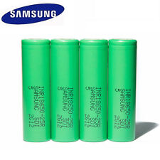 4Pcs SAMSUNG INR18650-25R 2500mAH Rechargeble Battery For SMOKTech Vape mods
