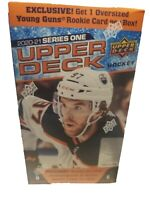 2020-2021 SERIES 1 ONE UPPER DECK HOCKEY BLASTER 1 OVERSIZED YOUNG GUNS ROOKIE