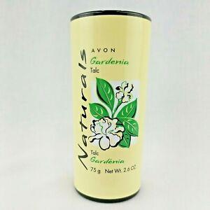 Avon Naturals GARDENIA Body Talc Body Powder 2.6 oz. New Sealed Free Shipping