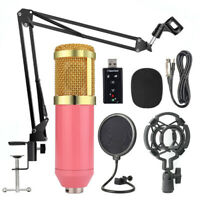 Professional Live Streaming Broadcasting Recording Condenser Microphone Mic Kit