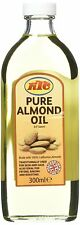 KTC Pure Almond Oil for Hair Growth and Skin Care Moisturiser, Cooking- 200ml