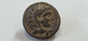 0975.  Alexander III 'the Great' AR Tetradrachm. Celtic Coins. Danubian Celts