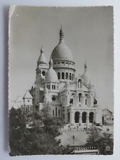 Vintage Postcard WWII Paris The Secred Heart APO 254 WW2 France #6440