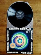 "LP DAEVID ALLEN ""BANANA MOON"" GONG Byg Records 529 345 / Actuel 45 - France 1971"