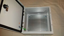 Electrical enclosure wall mount  IP65 sheet steel different sizes available