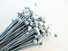 BULK DEAL, 100 INNER BRAKE CABLES WITH BARREL ENDS, MTB ETC,  2M X 1.5mm