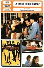 LA BANDE DU DRUGSTORE - Simonet,Cassel,Wiik,Taglioni (Fiche Cinéma) 2002 - Dandy
