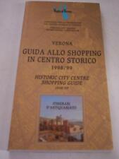 VERONA GUIDA ALLO SHOPPING IN CENTRO 1998